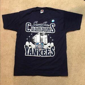 New York Yankees subway series T-shirt from 2000